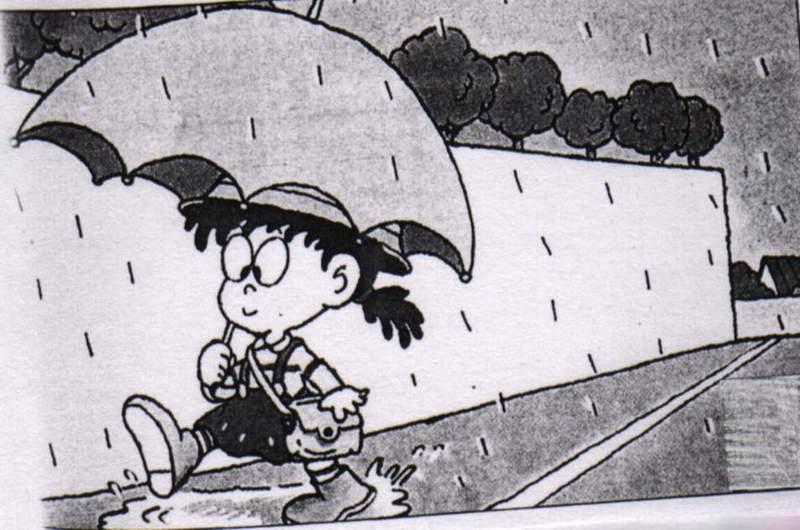 下雨天行的安全