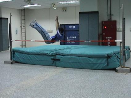 跳高运动矢量图
