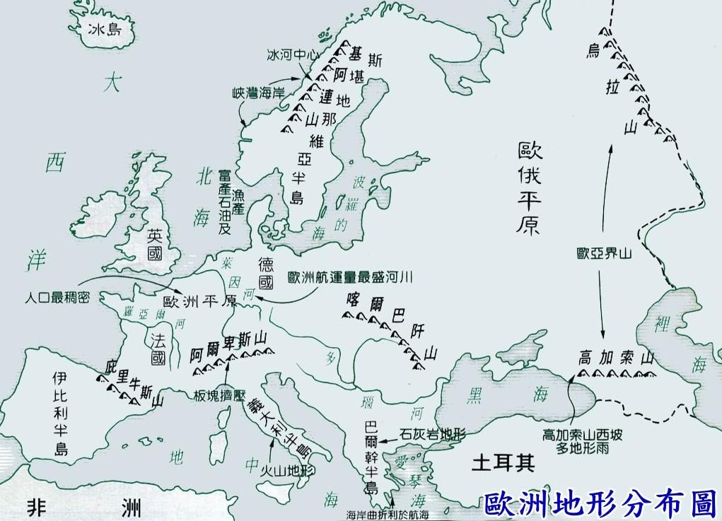 地图 简笔画 手绘 线稿 1021_737